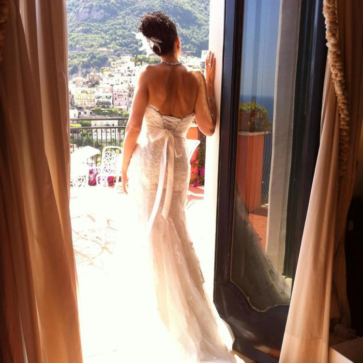 wedding back
